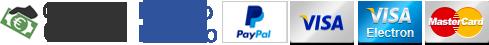Pagamenti disponibili per acquista articolo su laser mania store