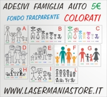 Adesivi Auto Family Sticker