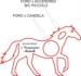 Bomboniera a forma di Cavallo  in Plexiglass