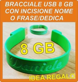 Bracciale usb 8 gb