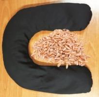 Cuscino Cervicale Semi di Farro