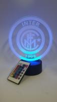 lampada 3d Inter