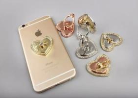 Anello salva smartphone Cuore