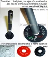 Espositore in plexiglass e legno sigaretta elettronica 1 posto