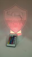 Lampada 3d As Roma