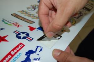 Stampa e Taglio adesivi personalizzati